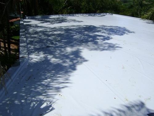 Impermeabilização Manta de PVC Cobertura