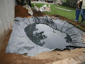 Impermeabilização de Manta de PVC Lago